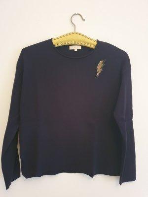 talk about Crewneck Sweater dark blue