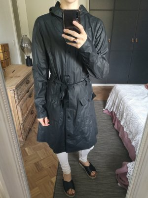 Rains Zware regenjas zwart-antraciet