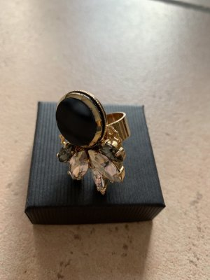 Anton Heunis Statement ring brons-zwart
