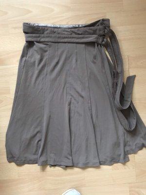 Prego Falda cruzada gris verdoso