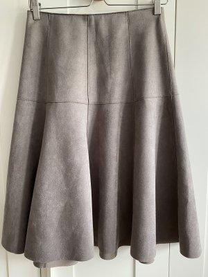 Orsay Falda de cuero gris
