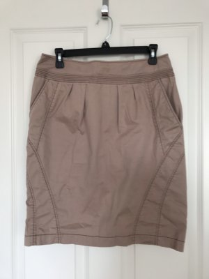 Boss Orange Tweed Skirt beige-gold-colored