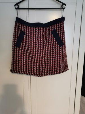 Esprit Knitted Skirt white-carmine