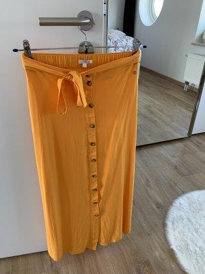 Tom Tailor Denim Jupe longue orange doré