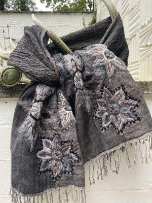 Fraas Bufanda de lana multicolor Lana