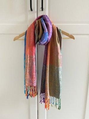 keine Silk Scarf multicolored silk