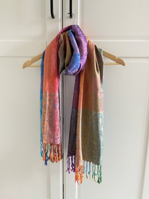 keine Silk Scarf multicolored silk
