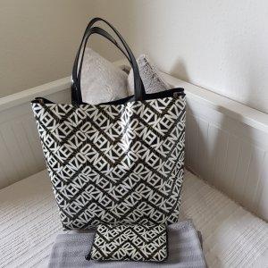 Kenzo Shopper white-black