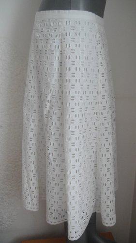 C.M.P.55 Jupe en dentelle blanc coton
