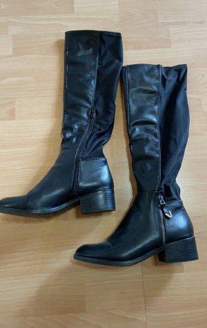 Anna Field Wide Calf Boots black