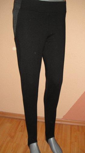 Mohito Stretch Trousers black-dark grey spandex
