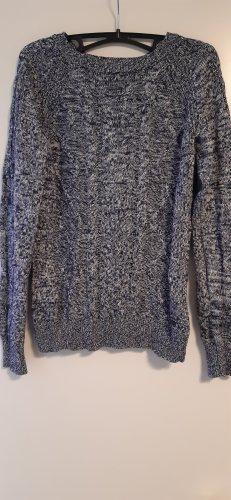 Arizona Knitted Sweater white-dark blue