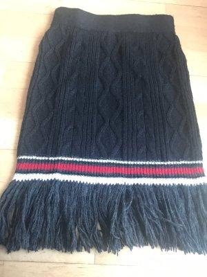 Gonna di lana multicolore