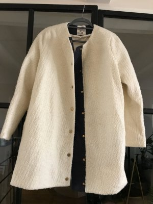 Baum und Pferdgarten Wool Coat natural white-dark blue