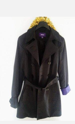 Mexx Trenchcoat noir-violet