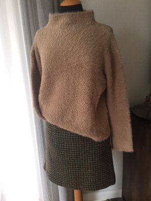 river woods Tweed Skirt brown-green grey