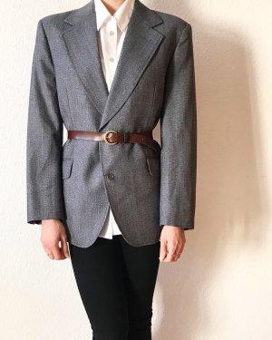 Toller vintage Blazer in grau- perfekter Begleiter fürs Büro