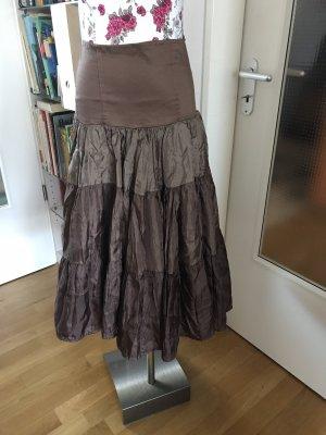 Flounce Skirt brown