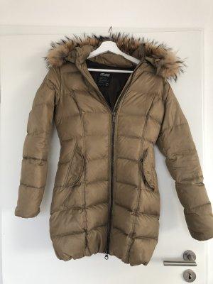 Bomboogie Manteau à capuche bronze-beige