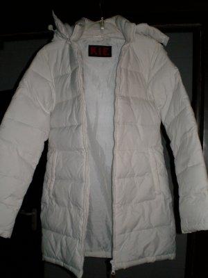 Abrigo acolchado blanco Acrílico