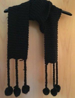 H&M Écharpe en tricot noir
