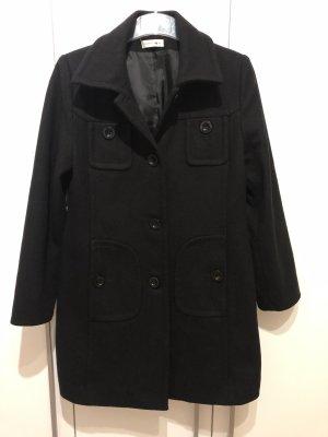 Comma Wool Coat black