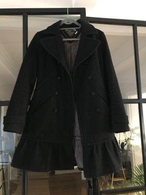 Hilfiger Denim Wool Coat black