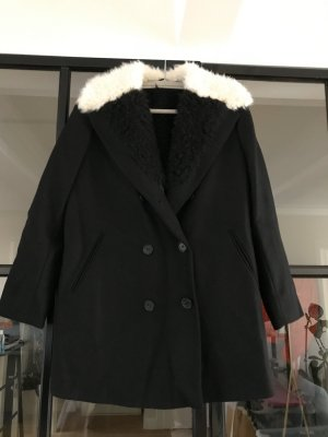 & other stories Wool Coat white-black