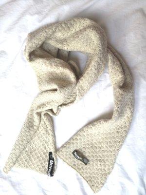 Bench Sciarpa di lana crema-beige chiaro