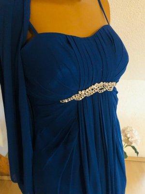 Tolles Abendkleid mit Stola von Lautinel Gr 2