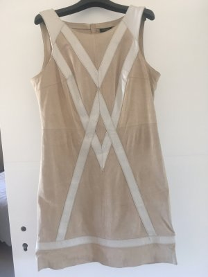 Steps Leather Dress oatmeal-natural white