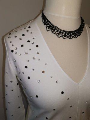 Tolles ausgefallenes Kleid mit Glitzersteinen