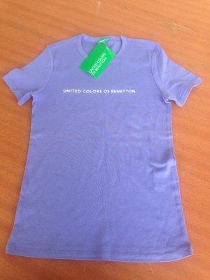 Tolles Basic Shirt von BENETTON, NEU mit Etikett, Gr. SMALL