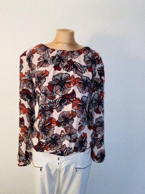 Tolles Blusenshirt mit Lotusblüten