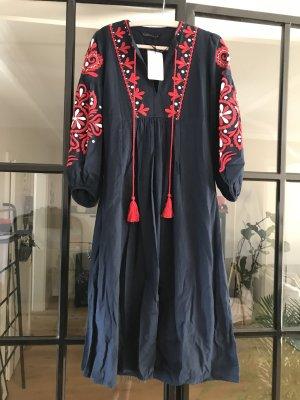 Tolles Boho-Kleid von Zara mit Etikett.
