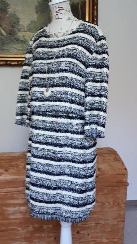 Jaune Rouge Vestido de lana multicolor