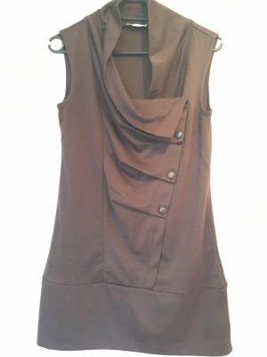 Orsay Top lungo marrone-marrone scuro