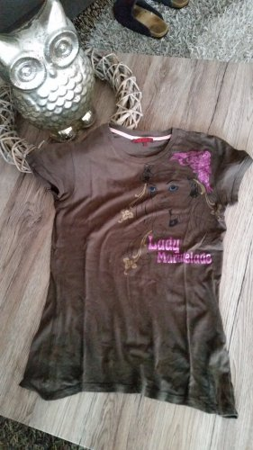 Tolles braunes T-Shirt Gr. S v. Review