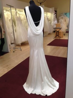 Wedding Dress white polyester
