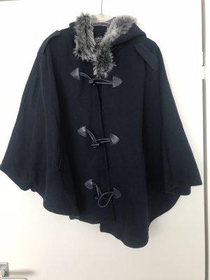Atmosphere Poncho azul oscuro