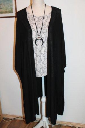 H&M Poncho en tricot noir
