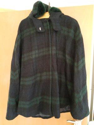 Tolles Cape von Zara, Tweed, Black Watch Tartanmuster