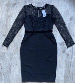 Dorothy Perkins Sukienka z gorsetem czarny Poliester