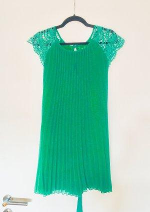 Chiffon jurk groen