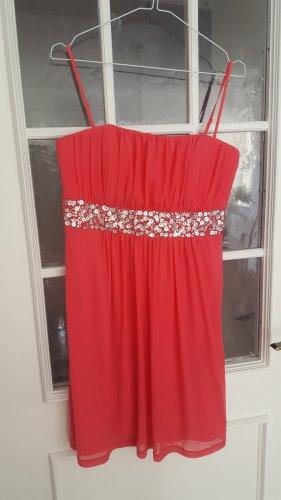 Esprit Sukienka bez ramiączek malina