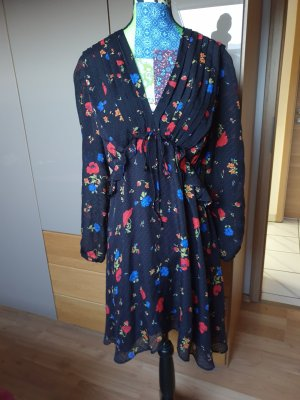 The Kooples Robe chiffon multicolore
