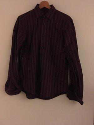 van Laack Shirt met lange mouwen bordeaux
