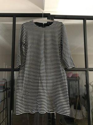 COS Sweater Dress white-black