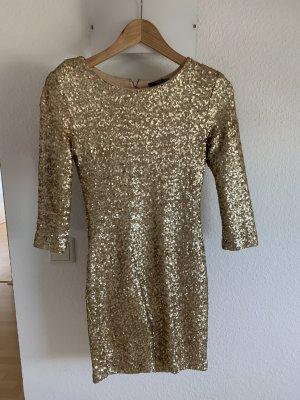 Tolles goldenes Kleid von tfnc London