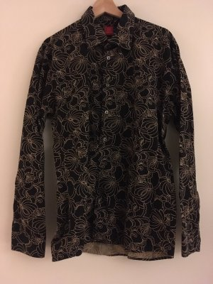 Clothcraft Long Sleeve Shirt black-beige